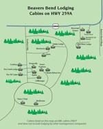 hwy 259 map