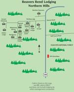 northern hills map