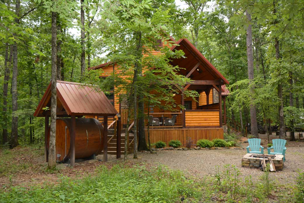Photo gallery chasing fireflies cabin rentals for Bend cabin rentals