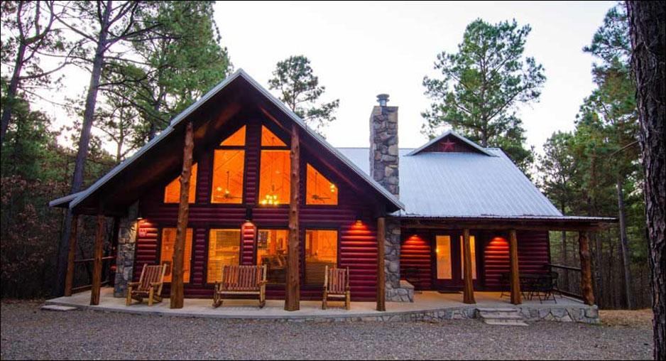 Crimson Star Cabin Rentals Beavers Bend Lodging