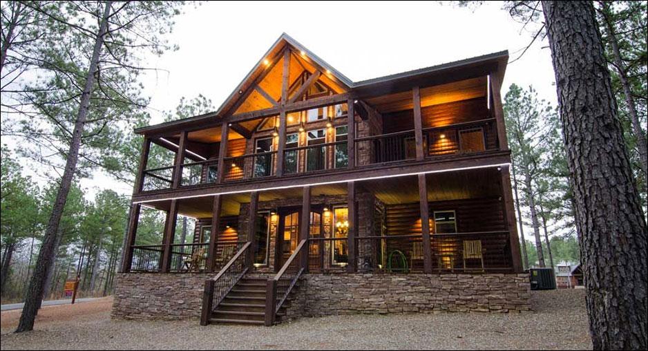 Geronimo Cabin Cabin Rentals Beavers Bend Lodging