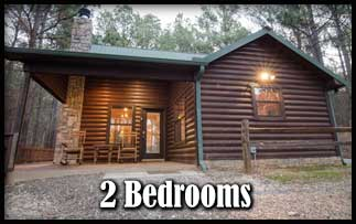 2 Bedroom Broken Bow Lake, Hot Tub Cabins near Beavers Bend State Park