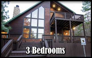 Pet Friendly 3 Bedroom Cabins in Beavers Bend State Park