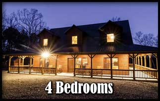 4 Bedroom Hot Tub Cabins in Broken Bow Oklahoma