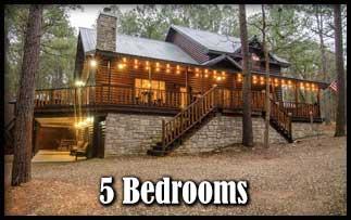 a 5 Bedroom Beavers Bend Cabins