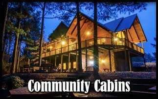 Community Cabins Around Broken Bow Lake And Beavers Bend State Park
