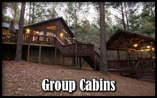 Group Rentals For Reunions, Get Togethers, Corporate Retreats In Beavers  Bend State Park