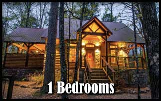 Romantic 1 Bedroom Broken Bow Cabins