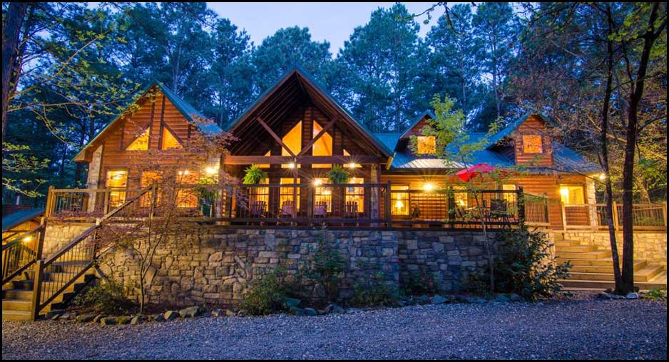 Leaping Lizard Lodge Cabin Rentals Beavers Bend Lodging
