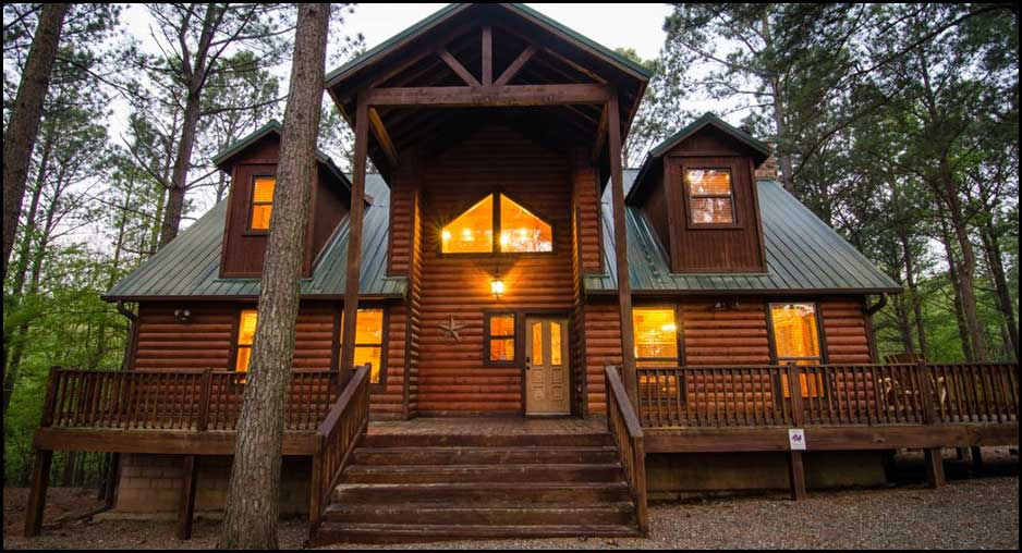 lake hugo cabins rentals primitive cabin in oklahoma
