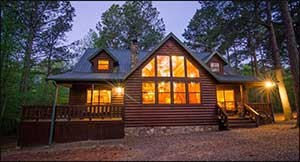 (High Luxury 3 Bedroom Cabin W/Loft) Southern Hills Beavers Bend Resort Park  8 Bed Types, Sleeps 12 People. Maximum Occupancy: 14 People