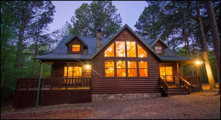 Texas Two Step Cabin Rentals Beavers Bend Lodging