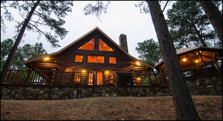View At The Top Cabin Rentals Beavers Bend Lodging