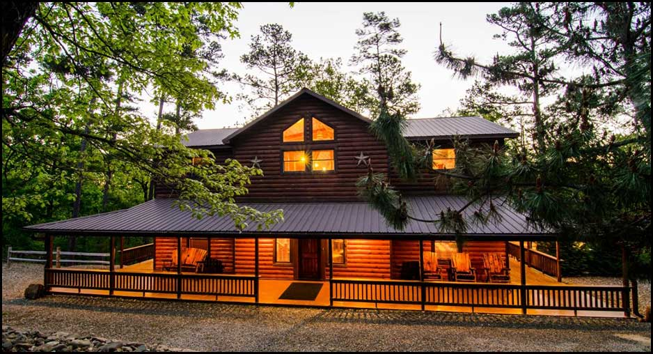 Wild west lodge cabin rentals beavers bend lodging for Cabins west lodging