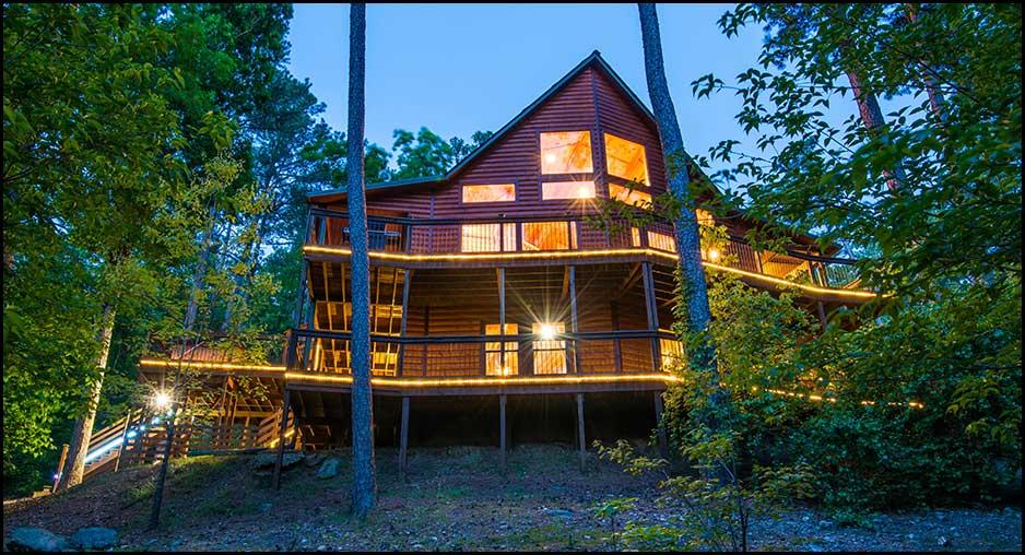 Mountain Dream Lodge Cabin Rentals Beavers Bend Lodging