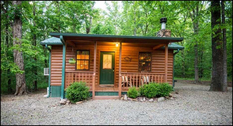 Whispering Woods Studio Cabin Cabin Rentals Beavers Bend